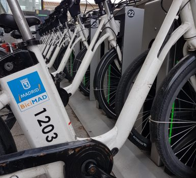 Cycle Hire in Madrid