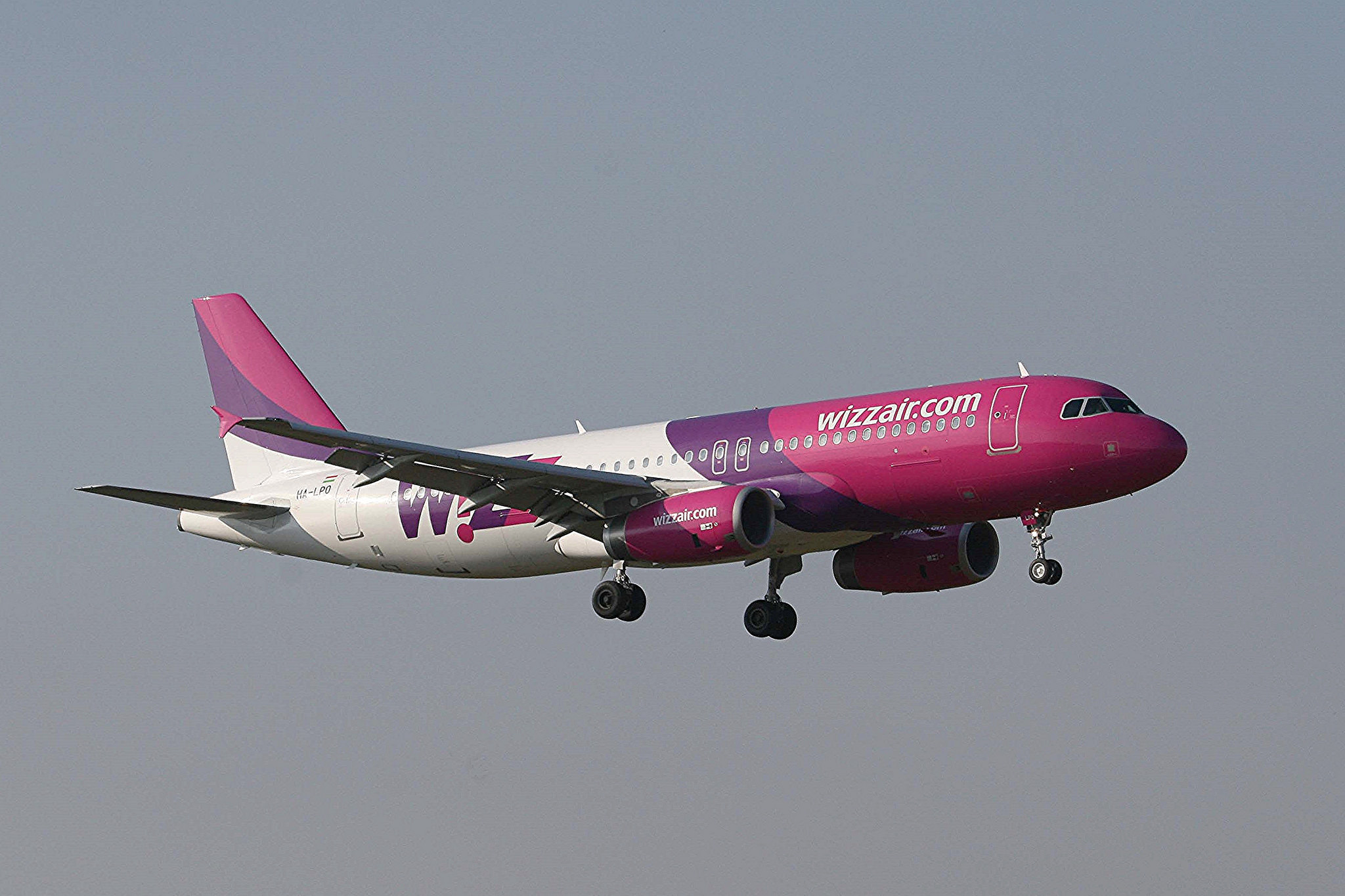 Wizz air aircraft